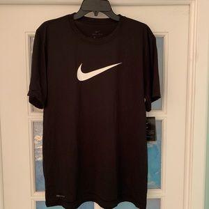 Brand New Black Nike Dri Fit Shirt Size L